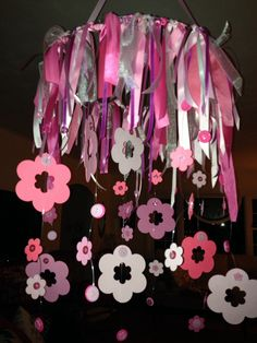 Paper, ribbon, buttons