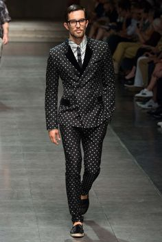 Dolce  amp  Gabbana Spring 2016 Menswear - Collection - Gallery - Style.com  Moda d328848f1d12
