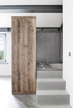 Badeværelse Med Eksotisk Udebad  Beach Houses Interiors Best Bathroom Bazaar 2018