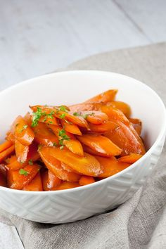 Gekarameliseerde worteltjes