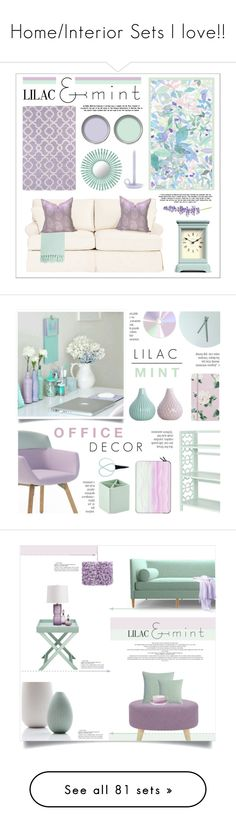 """""""Home/Interior Sets I love!!"""" by katelyn999 ❤ liked on Polyvore featuring interior, interiors, interior design, home, home decor, interior decorating, Ballard Designs, Florence Broadhurst, Surya and Holly's House"""
