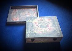 Tee box  idea Decorative Boxes, Tees, Frame, Vintage, Home Decor, Homemade Home Decor, T Shirts, Tee Shirts, Teas