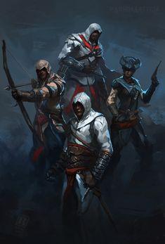 Assassin's Creed Commission by Raph04art.deviantart.com on @DeviantArt