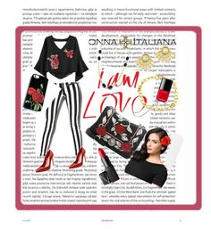 Red and black DONNA ITALIANA jewelry by varnima on Polyvore featuring polyvore fashion style Pistola Alexander McQueen Miu Miu NARS Cosmetics Chanel Oris clothing