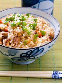 The Red Gingham: Teppanyaki Fried Rice with Pork