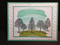 Lovely as a Tree, General Greeting Card, Masculine Card, Stampin' Up!, Rubber Stamping, Handmade Cards