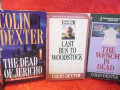 Books Inspector Morse Mysteries  Colin Dexter Lot of 8 Paperbacks
