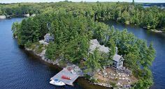 Cove Island - Ontario, Canada - CAD.