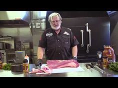Myron Mixon BBQ Brisket Demo 2016 King of the Smokers Bbq Pitmasters, Brisket Rub, Smoked Brisket, Pellet Grill Recipes, Grilling Recipes, Grilling Tips, Rauch Grill, Beef Brisket Recipes, Rib Recipes