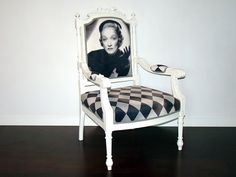 Fotel Marlene Dietrich (proj. picchairs), do kupienia w DecoBazaar.com