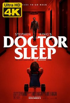 Check out 2 killer new posters for Mike Flanagan's adpation of Stephen King's Doctor Sleep starring Ewan McGregor. Stephen Kings, Films Stephen King, Stephen King Doctor Sleep, Stephen King Shining, Ewan Mcgregor, Rebecca Ferguson, Film Vf, Film Serie, Toy Story