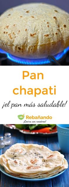 Pin on Beauty Pin on Beauty Chapati, Mexican Food Recipes, Vegan Recipes, Cooking Recipes, Pan Indio, Fingerfood Party, Cooking Bread, Pan Dulce, Pan Bread