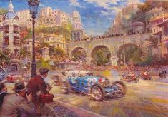 Le Pur Sang des Automobiles, 1931 by Alfredo de La Maria