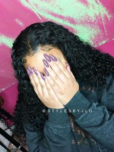 Frontal Sew-in no glue, no tape...OMG!! Hair:  Brazilian Wet and Wavy
