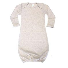 The Laughing Giraffe Unisex Long Sleeve Baby Sleeper Gown 0-3mo This Side Up 7PK