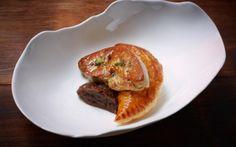 22 Ships - Hong Kong -  Spiced Duck Empanada with Foie Gras and Fried Caper Onion Jam