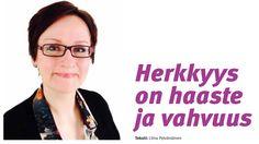 Kirjoittamani HSP-coach ja aikuispedagogi Elina Akolan haastattelu erityisherkkyydestä Kerava-lehden sivulla 14.