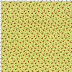 Tecido Estampado para Patchwork - Florzinha Verde 100% Algodão - 50cm de comprimento - 1,40m de largura Cada unidade refere-se a um pedaço de 50cm de comprimento por 1,40m de largura. Para adquirir 1 metro, selecione 2 unidades. Fabricante: Corrente