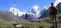 Hiking in the Cordillera Huayhuash - PERU