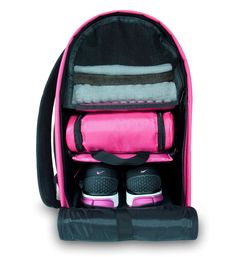 Item of the Day:  Glo bag - a backpack that can help you organize all your gym essentials. | Accessories