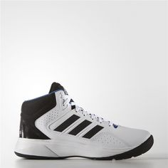 Adidas Cloudfoam Ilation Mid Shoes Running White Ftw Black Matte Silver