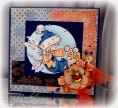 Fairy Fluff by busysewin - Cards and Paper Crafts at Splitcoaststampers