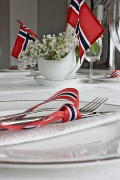 Norway Constitution Day, Hooray, 17 May! 17. Mai, Norway National Day, Sons Of Norway, Cooking Contest, Constitution Day, Table Setting Inspiration, Scandinavian Food, Fourth Of July, Traditional