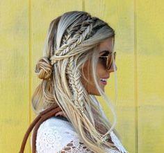 Mixed Braids Pinterest :Emily ♡