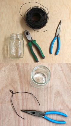 Easiest DIY hanging mason jar lights using dry cleaners hangers: beautiful home decor & wedding lighting from farmhouse to boho style! Mason Jar Projects, Mason Jar Crafts, Mason Jar Diy, Hanging Mason Jar Lights, Mason Jar Lighting, Chalk Paint Mason Jars, Painted Mason Jars, Diy Hanging Shelves, Floating Shelves Diy
