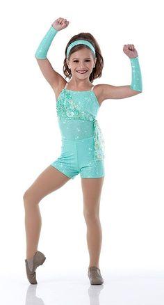 Mackenzie Ziegler from the reality tv show 'Dance Moms' in her blue dance wear Dance Moms Costumes, Dance Moms Dancers, Dance Mums, Tap Costumes, Dance Moms Girls, Girl Dancing, Girl Costumes, Dance Outfits, Jazz Dance Poses