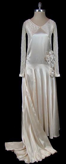 94f7681901dc De 24 bedste billeder fra brudekjoler 1930