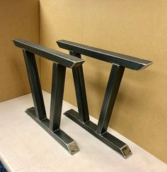 Modern Steel Legs, Design Steel Table Legs, Modern Sturdy Dining Table Legs