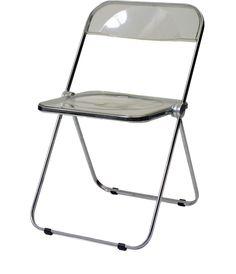 TU-Delft / Giancarlo Piretti, folding chair, metal, 1968