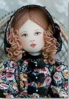 Janine - Kezi Cloth Doll Pattern