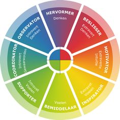 Leiderschapsstijl op basis van Insights Discovery profielen - Jo Bos en Co E Learning, Personality Assessment Test, Insights Discovery, Color Meanings, Target, Work Motivation, Employee Engagement, Emotional Intelligence, Critical Thinking