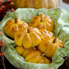 Perfect Pumpkin Dinner Rolls by beyondkimchee: Easy to make. #Rolls #Pumpkin #Thanskgiving