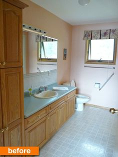 Before & After: A Bold But Budget-Friendly Bathroom Makeover