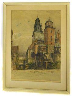 shopgoodwill.com: Luigi Kasimir Signed Etching 18. SEPT 1941 - B