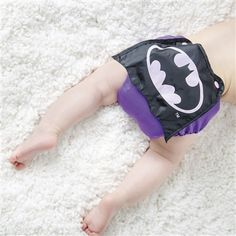 DC Comics Caped Snap-In-One Cloth Diaper