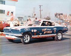 Tom McEwan 67/68 Barracuda funny car
