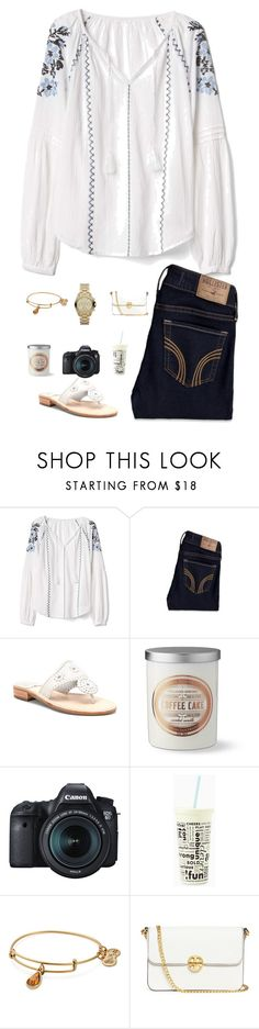 """All that you are is all that I'll ever need."" by jessicasmith17 ❤ liked on Polyvore featuring Gap, Hollister Co., Jack Rogers, Williams-Sonoma, Eos, Kate Spade, Alex and Ani, Tory Burch and Michael Kors"