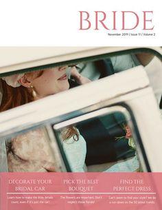46 best blurb magazine images on pinterest brochures editorial pink feminine wedding magazine fandeluxe Images
