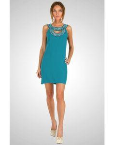 Embellished Cutout Dress