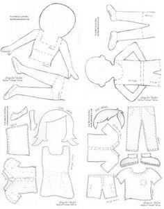 Doll pattern by Tomlinson79