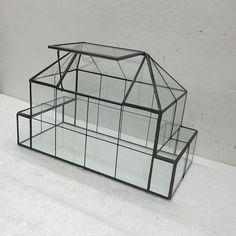 2016 New Modern Design Mini Green House Clear Crystal Glass Planter Glass Terrarium - Buy Mini Green House Product on Alibaba.com
