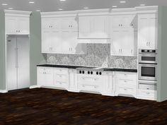 Elegant kitchen design Interior Design Software, Elegant Kitchens, Kitchen Design, Kitchen Cabinets, Home Decor, Kitchen Cupboards, Homemade Home Decor, Cuisine Design, Decoration Home