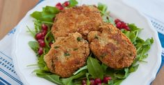 A healthy meal option, these pumpkins patties from community member, Elizabeth…