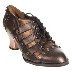 Hades Jade Heel Shoes (Brown)