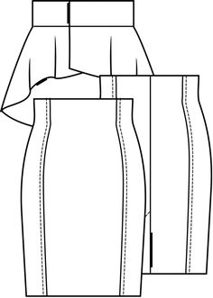 Skirt (post pattern) -789 922