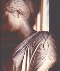 Detailed picture of sleeve on Roman woman's toga. McManus, Barbara. Detailed Image of toga sleeve. 2003. VRoma. National Endowment for the Humanities Teaching with Technology. Web. 9-27-11. http://www.vroma.org/images/mcmanus_images/sleeves.jpg